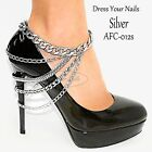 Foot - Shoe - Anklet Chain Multi layered draped Heel Costume jewellery #L-012