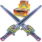 Childrens Kids Inflatable Foil Sword Balloons - Fancy Dress Party Bag Toys