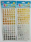 Numbers - Self Adhesive Stickers 1.25cm long Gold & Silver Pack