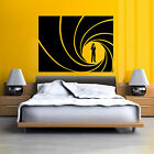 JAMES BOND 007 GOLDEN GUN Vinyl wall art sticker decal $21.58 CAD