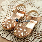 Spring Summer Baby Child Kids Diamond Hollow Girls Princess Sandals Flat Shoes