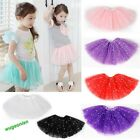 Hot 9 Colors 3 Layers Pretty Baby Girl Skirt Dance Party Tutu Dress 140cm Length