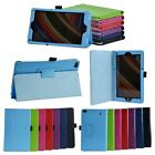 """Folio Leather Stand Case Cover for Lenovo Thinkpad 8 Windows 8.1 8.3"""" Tablet in"""
