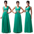 New Long Chiffon Bridesmaid Formal Gown Ball Cocktail Evening Prom Party Dresses