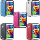 Rugged Impact Hybrid Bumper Case Cover w/ Screen Protector For Samsung Galaxy S5