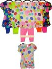 girls top & leggings set childrens summer blouse shirt kids outfit size/age 2-12