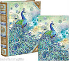 Punch Studio Everyday Book Box Notes Blank Cards - Paisley Peacock 43710