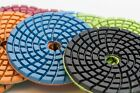 Diamond Polishing Pads Super Thick 4 inches Granite Marble Concrete 5mm Wet Dry