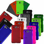 Hard Rubberized Case Matte 2-PC Fitted Cover For LG Optimus Phones