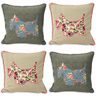 Paoletti Sweet Cottage Scottie Dog Cushion Cover