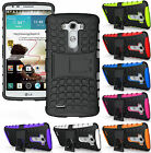 NEW GRENADE GRIP RUGGED TPU SKIN HARD CASE COVER STAND FOR LG G3 PHONE