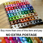 80 Colours Felting Wool Tops Roving PART 2 - Premium Australian Wool Needle Felt