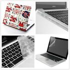 """4in1 HelloKitty Rubberized Plastic Case Cover For Macbook Air 11/13"""" &Pro 13/15"""""""
