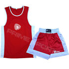 Kids Boxing Shorts & Top Set 2 Pieces High Quality Satin Fabric 5 TO 12 YEARS