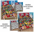Marvel Comics Defenders Single/ Double Bedding Quilt  Duvet Cover Brand New Gift