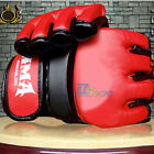PRO MMA UFC Muay Thai Training Gym Punching Bag Half Mitt Sparring Boxing Gloves