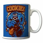 Sesame St THE INCREDIBLE HULK COOKIE MONSTER Tea Coffee MUG custom personalised