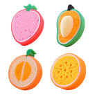 Cute Fruit Style Dish Washing Thick Sponge for Kitchen Bathroom Cleaning HQS