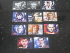 UK EXCLUSIVE -ROYAL MAIL DR WHO 50TH ANNIVERSARY STAMPS - ALL 11 DOCTORS