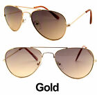 KIDS TODDLER BOYS GIRLS AVIATOR PILOT STYLE METAL PLASTIC FRAME SUNGLASSES SHADE