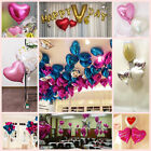 Colorful Love 18'' Heart-shaped Foil Balloons Birthday Wedding Party Decoration