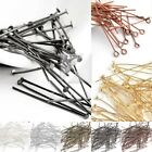 Внешний вид - 30g Silver Golden Head/Eye/Ball Pins Finding 21 Gauge 14-70mm Finding DIY Craft
