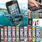 PC Waterproof Shockproof Dirt Snow Proof Hard Cover Case For iPhone 5s 5 4S 4