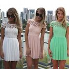 Women Summer Bandage Bodycon Lace Evening Sexy Party Cocktail Mini Dress HOT!-LJ