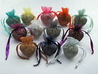 10 Heart shaped Organza Bags with  Festive Spice Mix Xmas Christmas Aroma