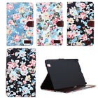 "Flower Card Wallet Leather For Samsung Galaxy Tab PRO 8.4"" T320 Case Cover"