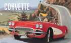 Corvette Sting Ray 1961 Show Room Print Picture Poster A1 Aprox
