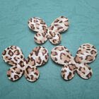 "(U Pick) Wholesale 50-500 Pcs. 1-3/8"" Leopard Satin Butterfly Appliques B0531"