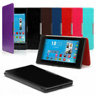 FOLIO CASE SMART COVER PU LEATHER FOR GOOGLE NEXUS 7 2 nd + CHOOSE ACCESSORIES