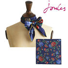 Joules Womens Clarence Silk Scarf (R) **FREE UK SHIPPING** **BNWT**