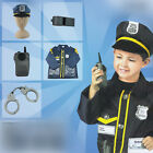 Policeman role-playing Cosplay Costume Halloween Christmas gift   for children