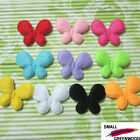 "(U Pick) Wholesale 50-500 Pcs 1-3/8"" Padded Felt Furry Butterfly Appliques B0900"