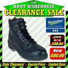 Blundstone 'Brute' 692. Steel Toe Safety. Black Ankle Boots.    LIMITED SIZES!