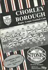 Chorley Borough Rugby League Programmes 1988 to 1993 your choice