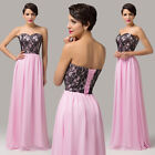 Floor Length Evening Formal Party Gown Graduation Prom Bridesmaid Cocktail Dress