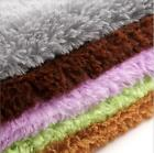 Chic Soft Absorbtion Dust Doormat Floor Rug Fluffy Mats fit Bathroom Bedroom LJ