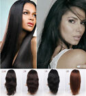 AAAA Sexy Real Silky Remy  Straight Brazil Hair Human Front Lace Wigs 14-30""