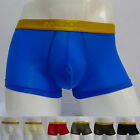 2014 CHEAP ~Smooth Sheer Shorts Bulge Mens Pouch Underwear Boxer briefs IN S M L