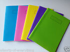 4 x Silvine Exercise Book A5 School Office 80 Page 75gsm Pink Blue Purple Yellow