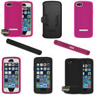 For iPhone 5 5S Body Glove ToughSuit Heavy Duty Rugged Hybrid Case + Holster
