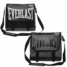 Everlast PVC Messenger Courier Laptop Shoulder Bag Satchel Black or Grey Boxing