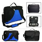 "18"" 18.4"" Inch Laptop Notebook carrying Messenger bag case briefcase Blue Black"