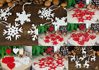 Sets of FELT CHRISTMAS DECORATIONS & CHRISTMAS GARLANDS - Lots of Choices