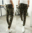 Fashion Men Casual Military Camouflage Combat Harem Pants Jogging Trousers slack