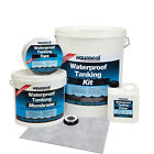 Everbuild Aquaseal Wet Room Shower Bathroom Tanking System Waterproofing Kit