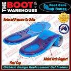 Gel Insoles. High Quality. Arch Support. Foot Massaging. Men's & Women's Sizes